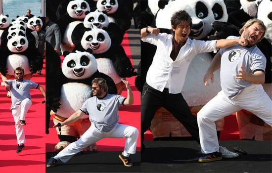 Cannes Film Festival 2008: Jack Black & Kung Fu Panda