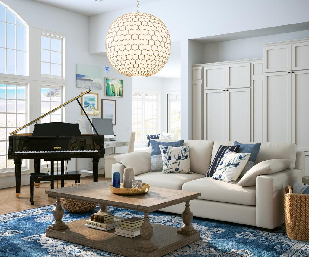 Big Little Lies-Inspired Coastal-Style Living Room