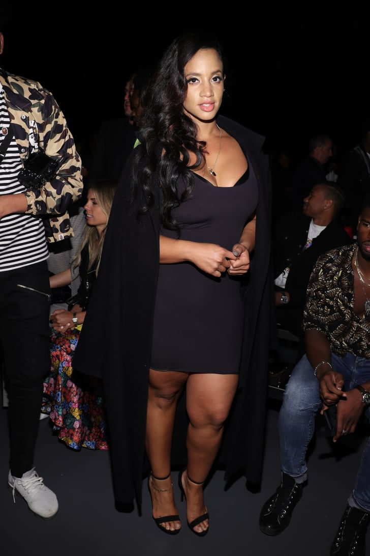 Dascha Polanco Celebrities In The Front Row At Fashion