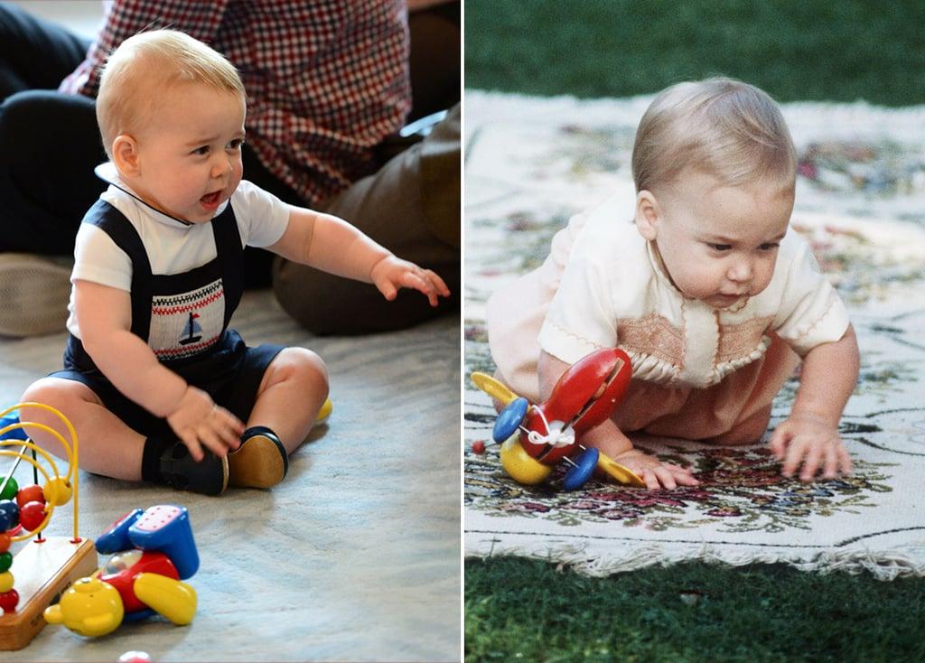 Prince George Looks Like Prince William