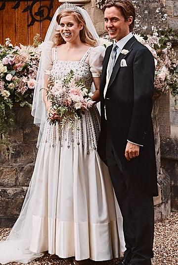 Princess Beatrice's Wedding Dress Display at Windsor Castle
