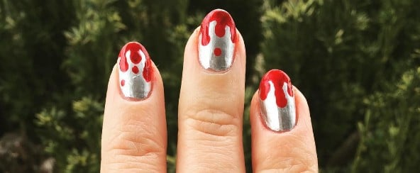 These Horrifyingly Gory Nail Art Designs Will Make You Cringe