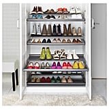 I Lined the Bottom With 2 Pull-Out Shoe Shelves