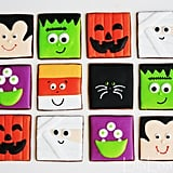 Spooky Square Cookies