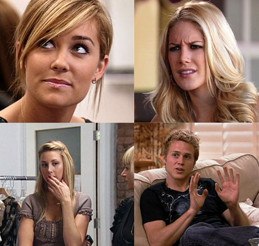 The Hills hair and makeup