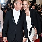 Sean Penn and Charlize Theron, 2014