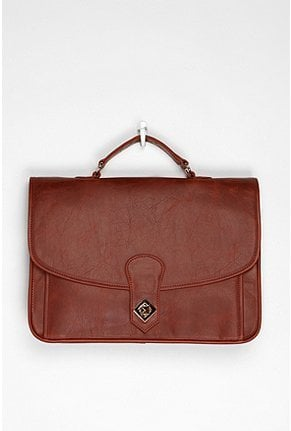 Nothing says class and dedication to your schoolwork like a boxy structured satchel. We love the deep cognac hue of this one;it'll go with everything. BDG Luxembourg Satchel ($59)