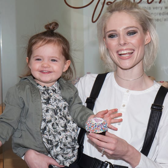 Coco Rocha and Daughter at Sprinkles Event in NYC Jan. 2017