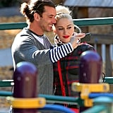 Gwen and Gavin Take the Boys to Christmas Eve at the Zoo
