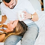 Bedroom Newlywed Photo Shoot