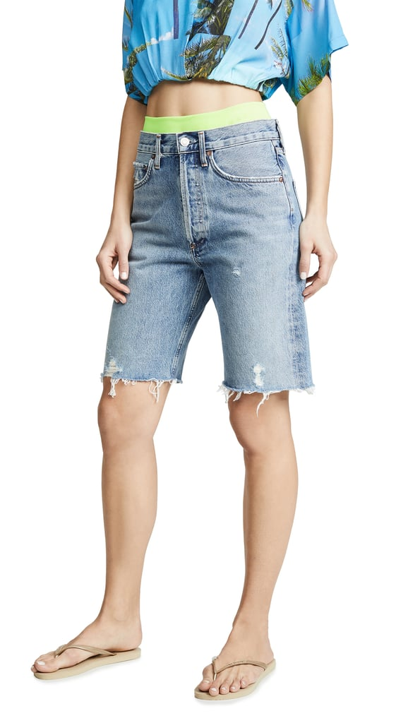 AGOLDE Mid Rise 90's Loose Shorts