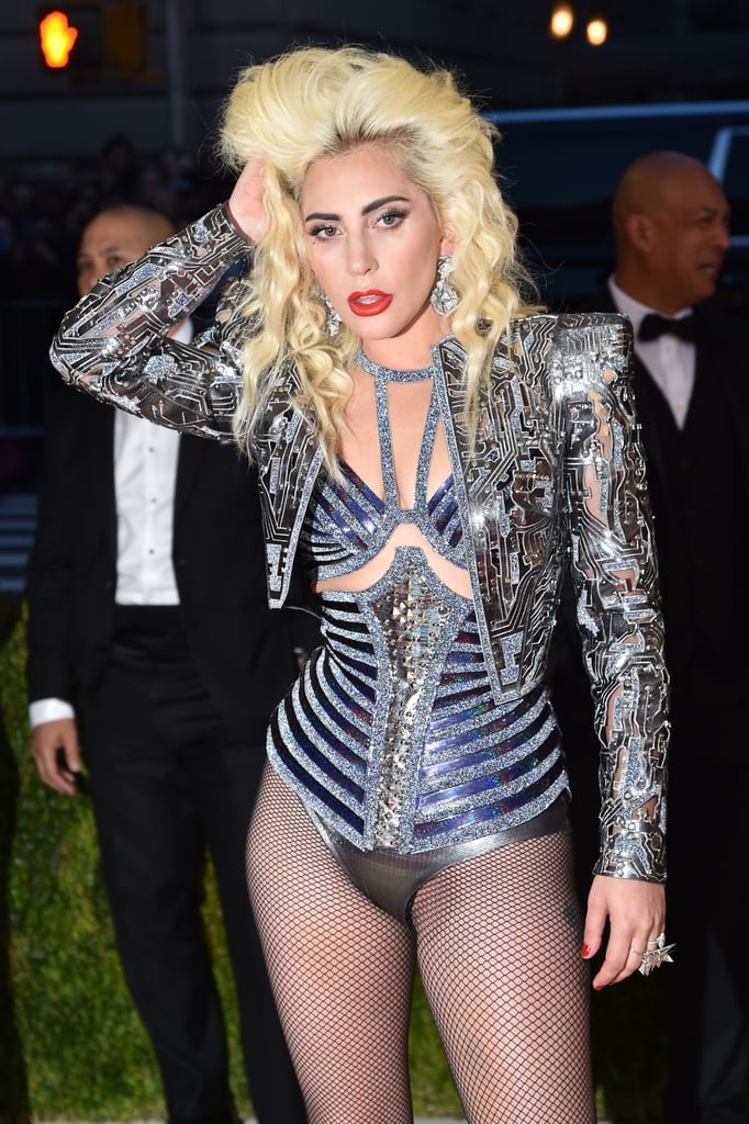 Lady Gaga's Hair and Makeup at the 2016 Met Gala