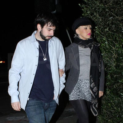 Christina Aguilera and Jordan Bratman Out in LA