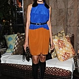 Freida Pinto wore Marni for H&M.