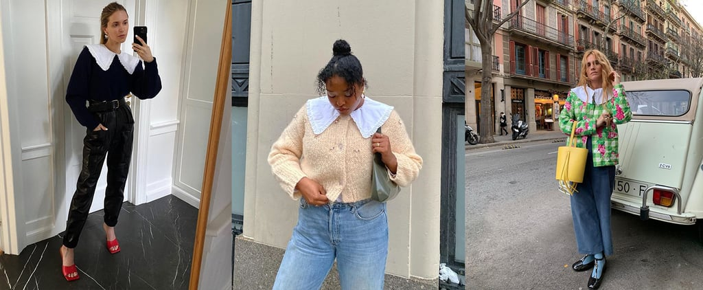 The Bib Collar Trend Is Taking Over My Instagram Feed | 2020
