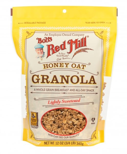 Honey Bunches of Oats: Eat Bob's Red Mill Honey Oat Granola Instead