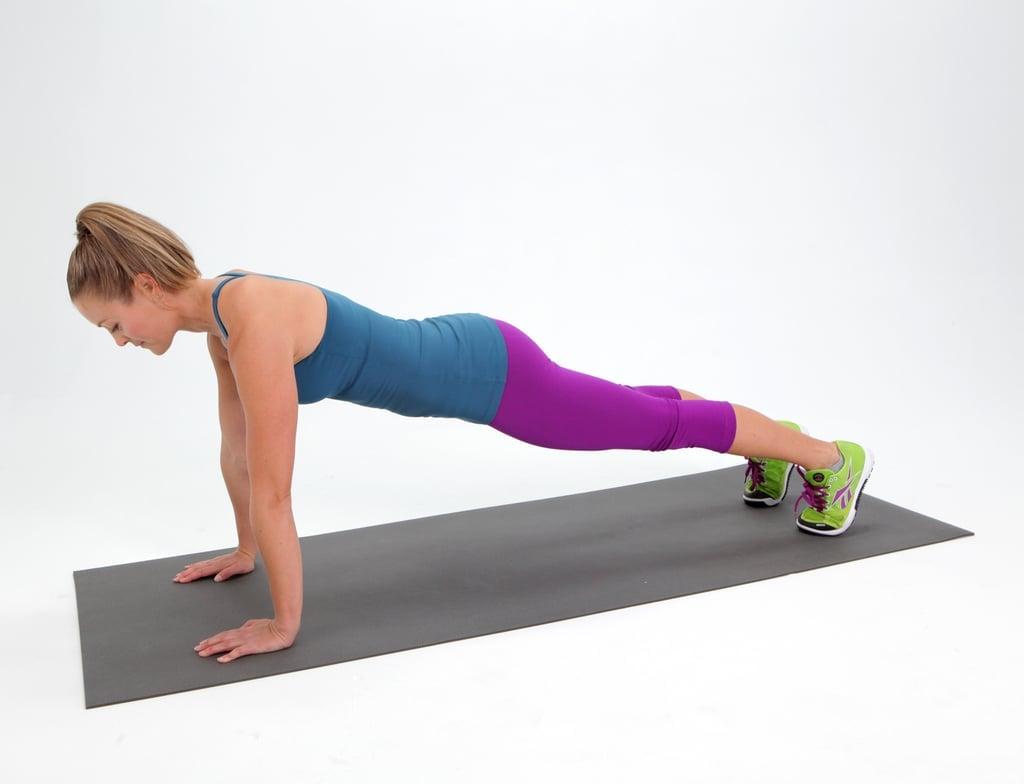 Blast Off Plank
