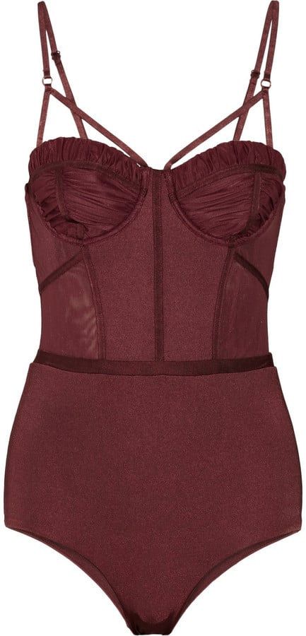 Zimmermann Instinct Panelled Underwired Swimsuit ($360)