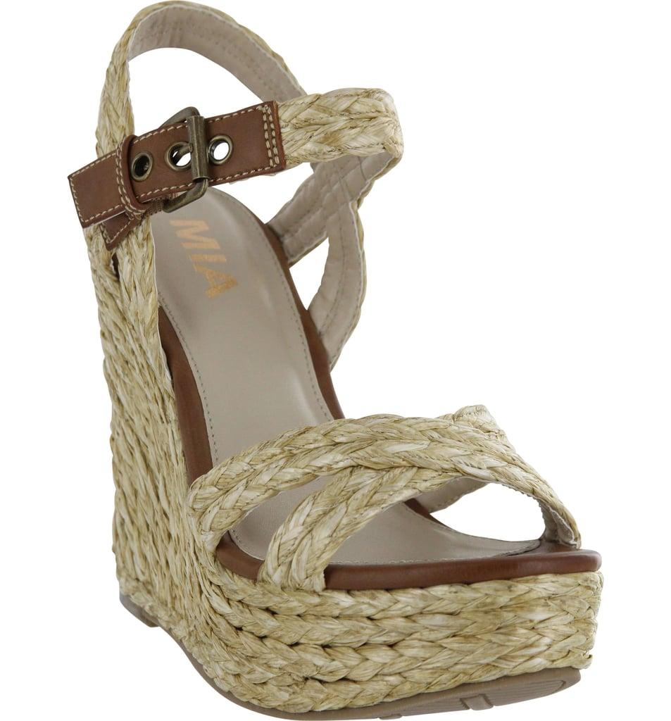 61ea9277900 MIA Leila Platform Wedge Sandal