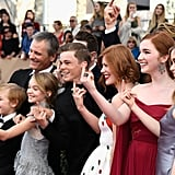 The Captain Fantastic Cast Gives the Middle Finger at the SAG Awards, and It's Actually . . . Fantastic