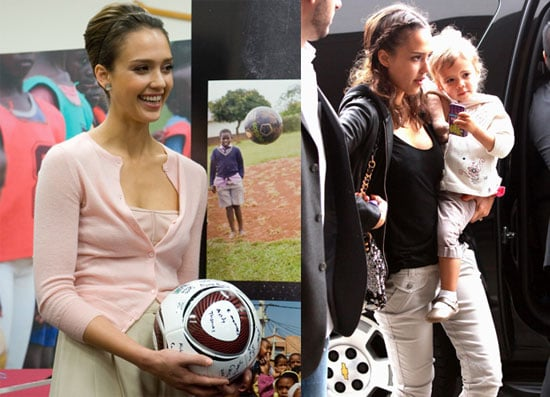 Pictures of Jessica Alba Doing Press on Capitol Hill Before The Tribeca Film Festival