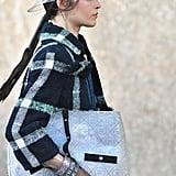 Models Walked Down the Runway Wearing Plastic Bucket Hats