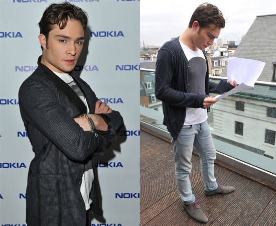 Pictures of Ed Westwick & Dev Patel