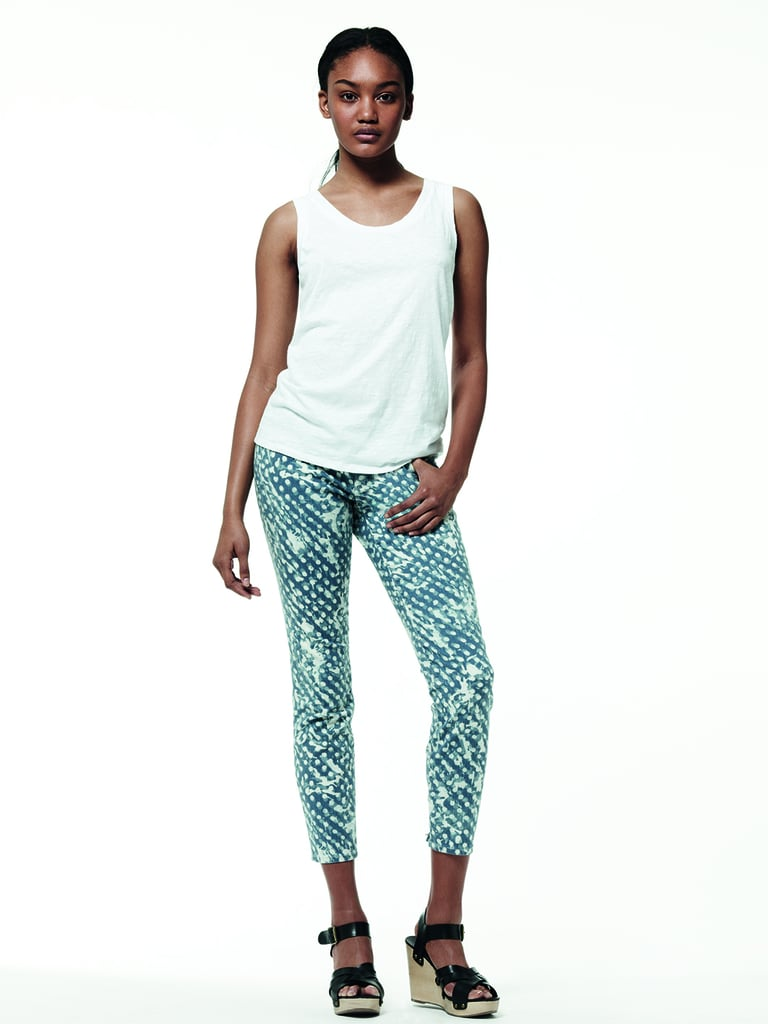 The wilder printed jeans even come in cropped iterations.