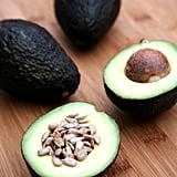 Afternoon Snack: Avocado and Sunflower Seeds