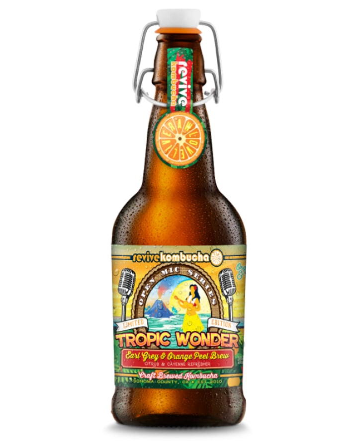 Revive Kombucha Tropic Wonder