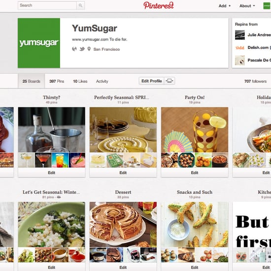 YumSugar on Pinterest