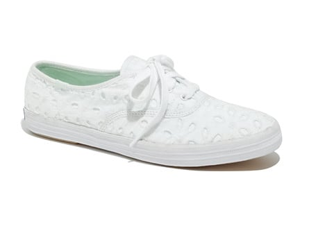 If comfort and style are what you're after, then you must get these Keds x Madewell Eyelet Sneakers ($41, originally $62). They would look absolutely darling with a cool denim dress.