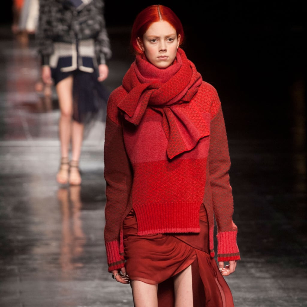 Prabal Gurung Paints It Red For Autumn/Winter 2014