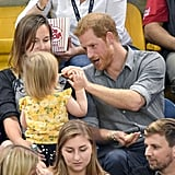When He Shared With a Popcorn Thief at the Invictus Games