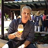 Kate Krader found herself a new cocktail friend in chef Eric Ripert.  Source: Instagram user kkrader