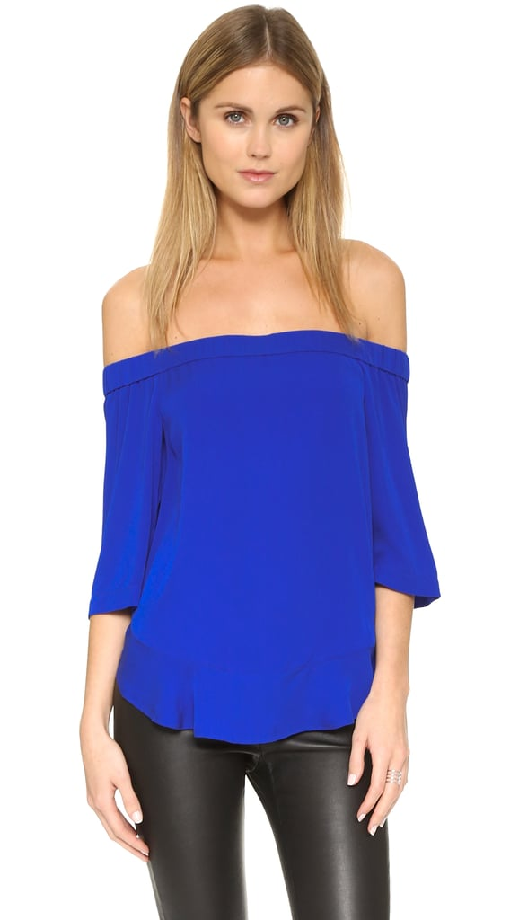 Rebecca Taylor Off Shoulder Top ($250)