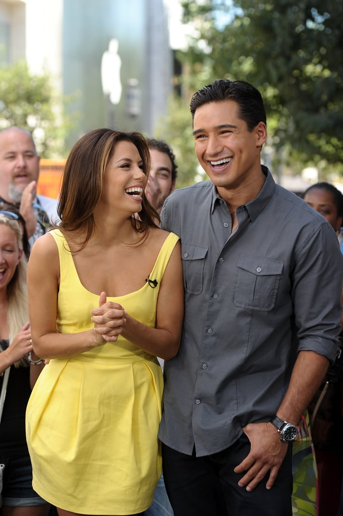 Eva Longoria and Mario Lopez