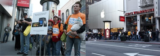 The iPhone 3G S Launch in San Francisco