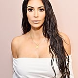 Kim Kardashian's Flesh-Toned Makeup in 2017