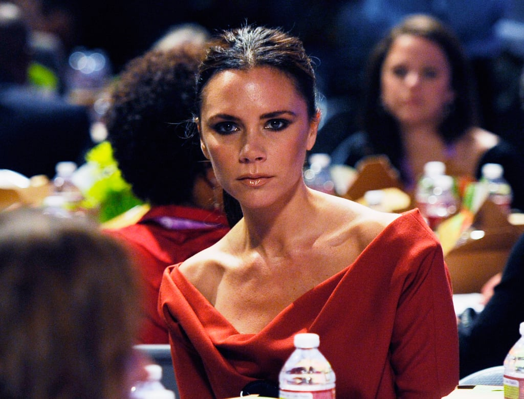 Jessica Simpson and Victoria Beckham at Women's Conference