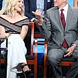 Kristen Bell and Ted Danson Pictures