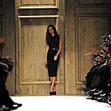 Victoria Beckham showed during NYFW.