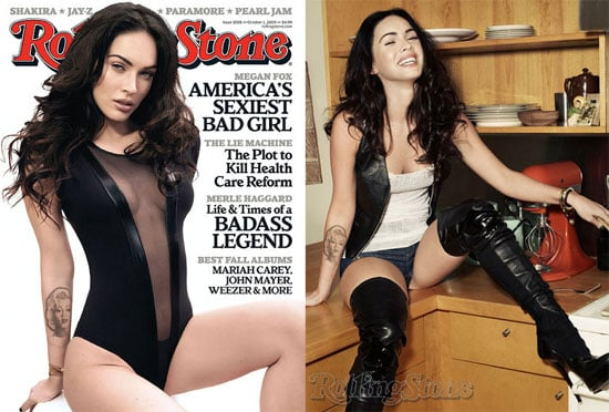Photos of Megan Fox in Rolling Stone