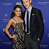 Vanessa Hudgens and her boyfriend, Austin Butler, arrived at the Hakkasan grand opening in Las Vegas.