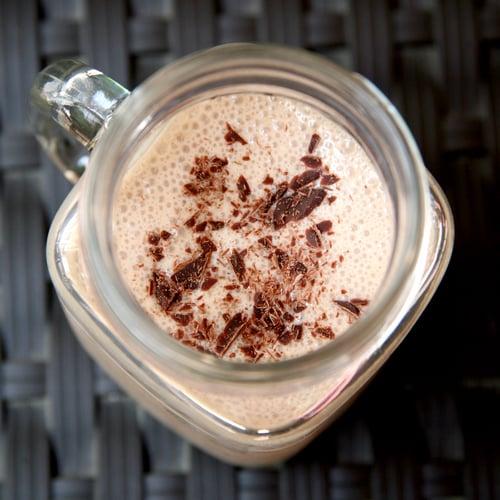 Smoothie au Chocolat et Amandes Peu Calorique