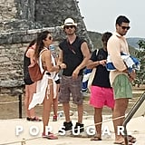 Ian Somerhalder and Nikki Reed Honeymoon Pictures