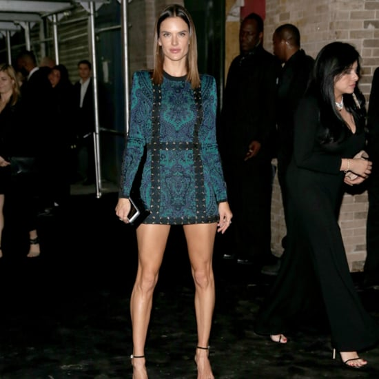 Alessandra Ambrosio and Joan Smalls at Met Gala Afterparty