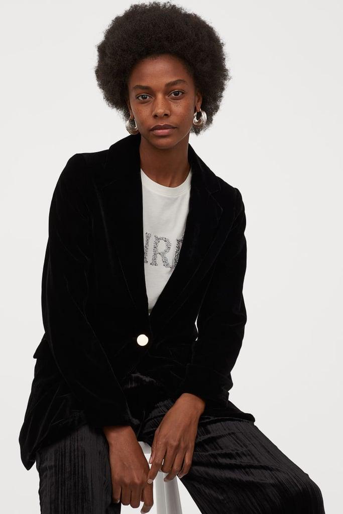 H&M Velvet Jacket