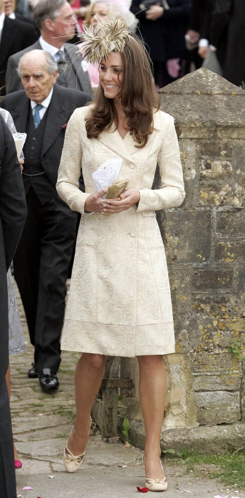 The coat's first public outing was for the wedding of Camilla's daughter Laura Parker-Bowles in 2006.