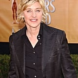 """""""I'm a comedian, and I definitely see the humor in a lot of things. I am also sad a lot. I cry often and easily. I think you're supposed to feel all kinds of things. You're supposed to laugh, you're supposed to cry, you're not supposed to shove your feelings under the rug."""" — Ellen on being honest about her emotions"""